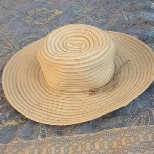 NWOT Croft and Barrow straw hat